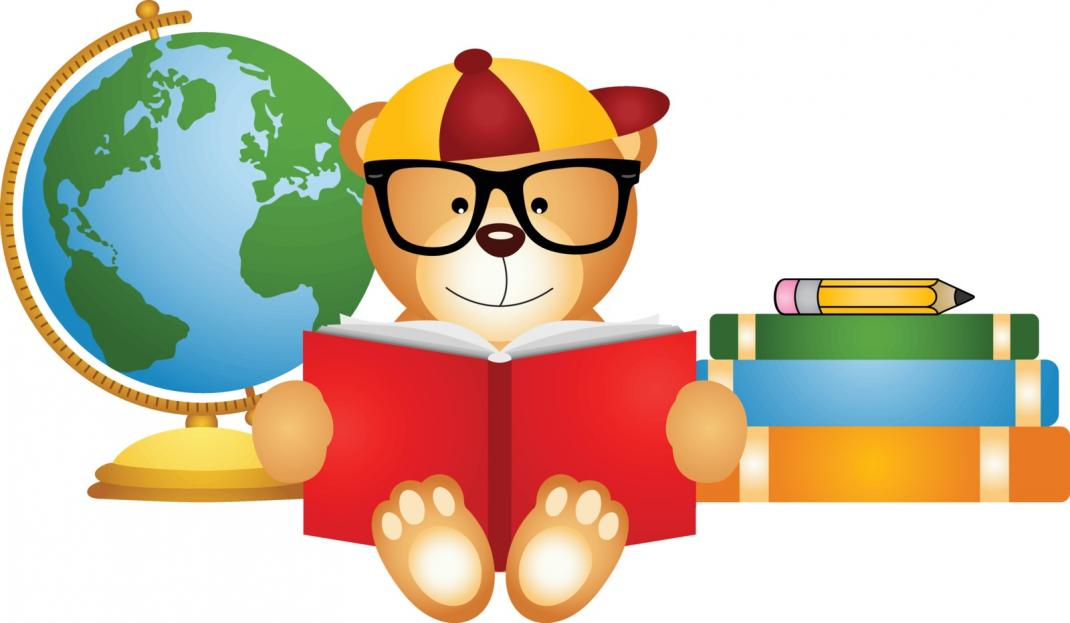teddy-bear-reading-book-with-globe[1]